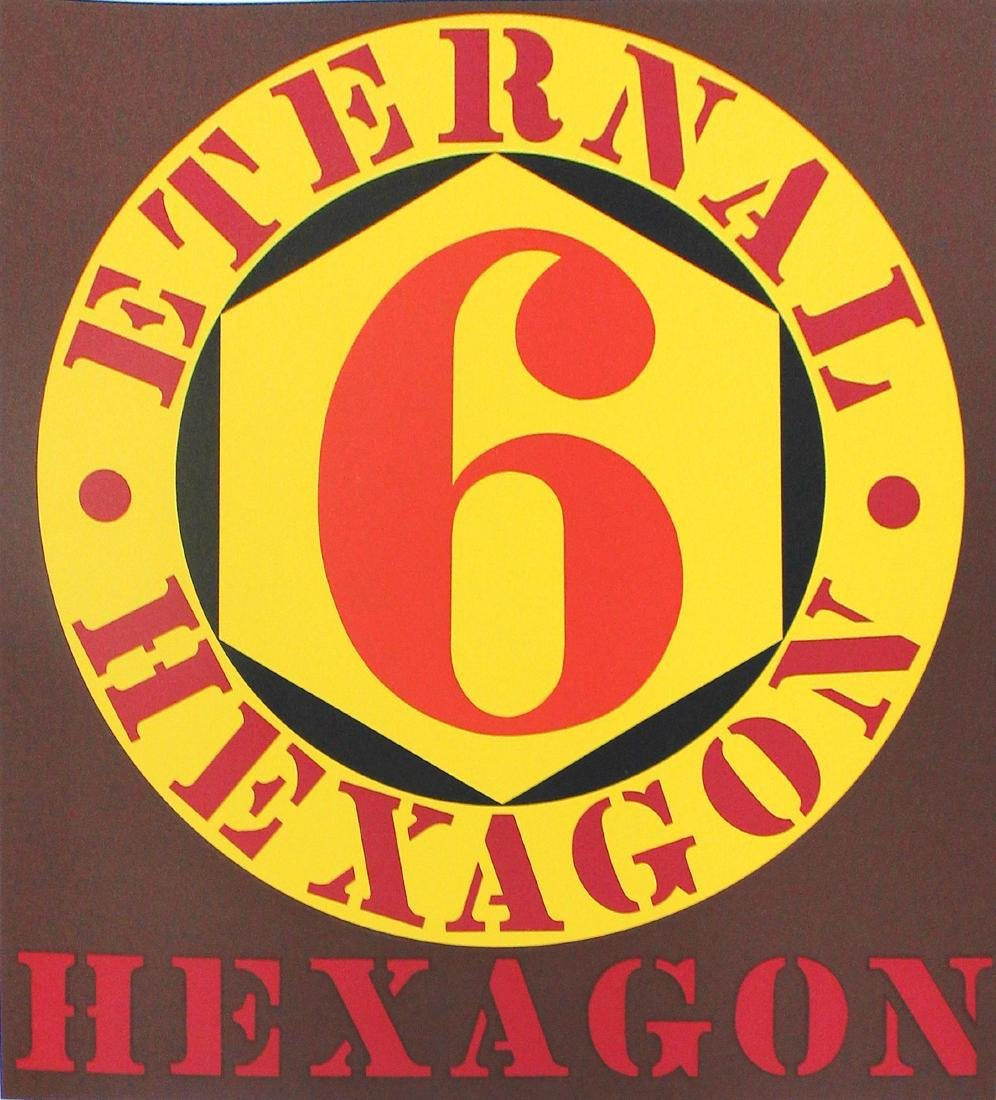 Robert Indiana - Eternal Hexagon