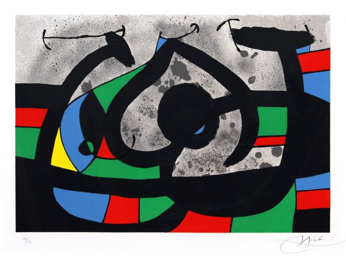 Joan Miro - Le Lezard aux Plumes d'Ord