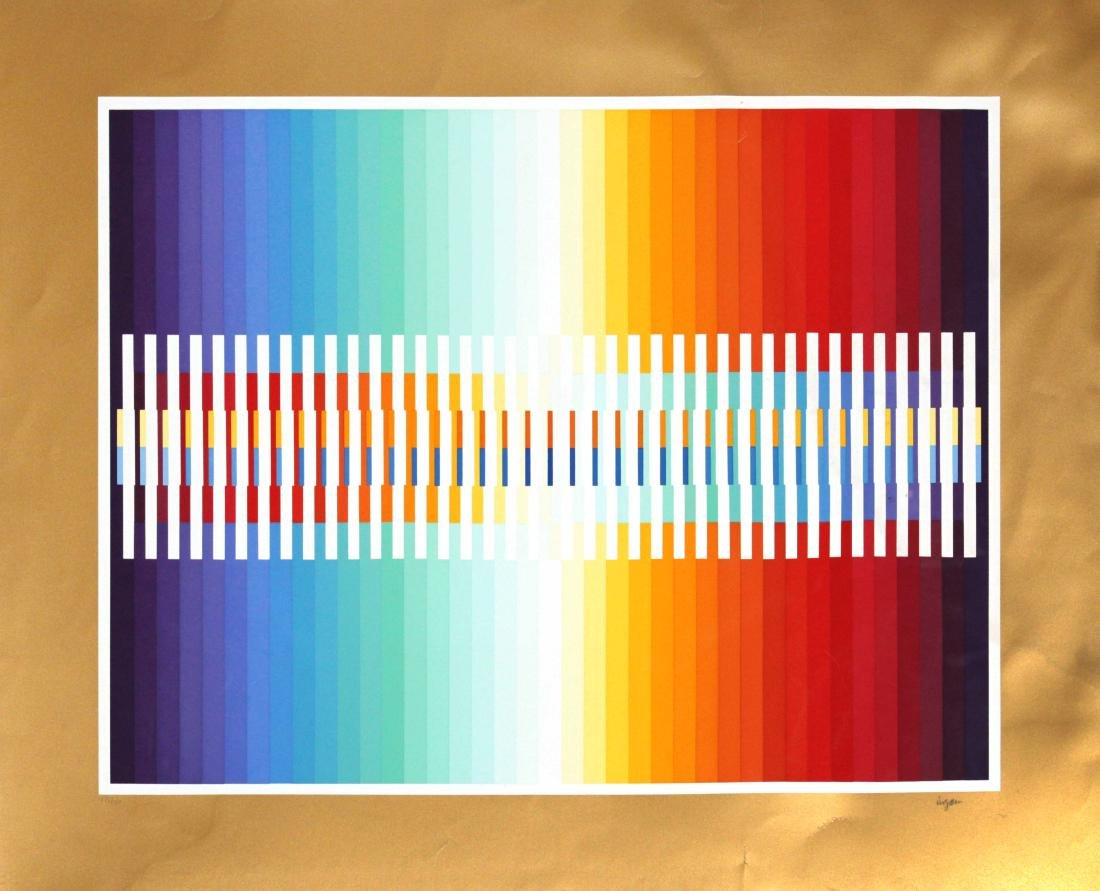 Yaacov Agam - Integrated Rainbow