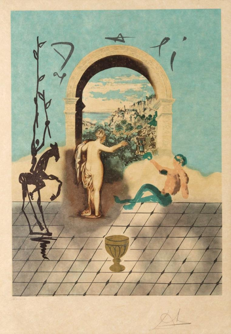 Salvador Dali - Gateway to the New World