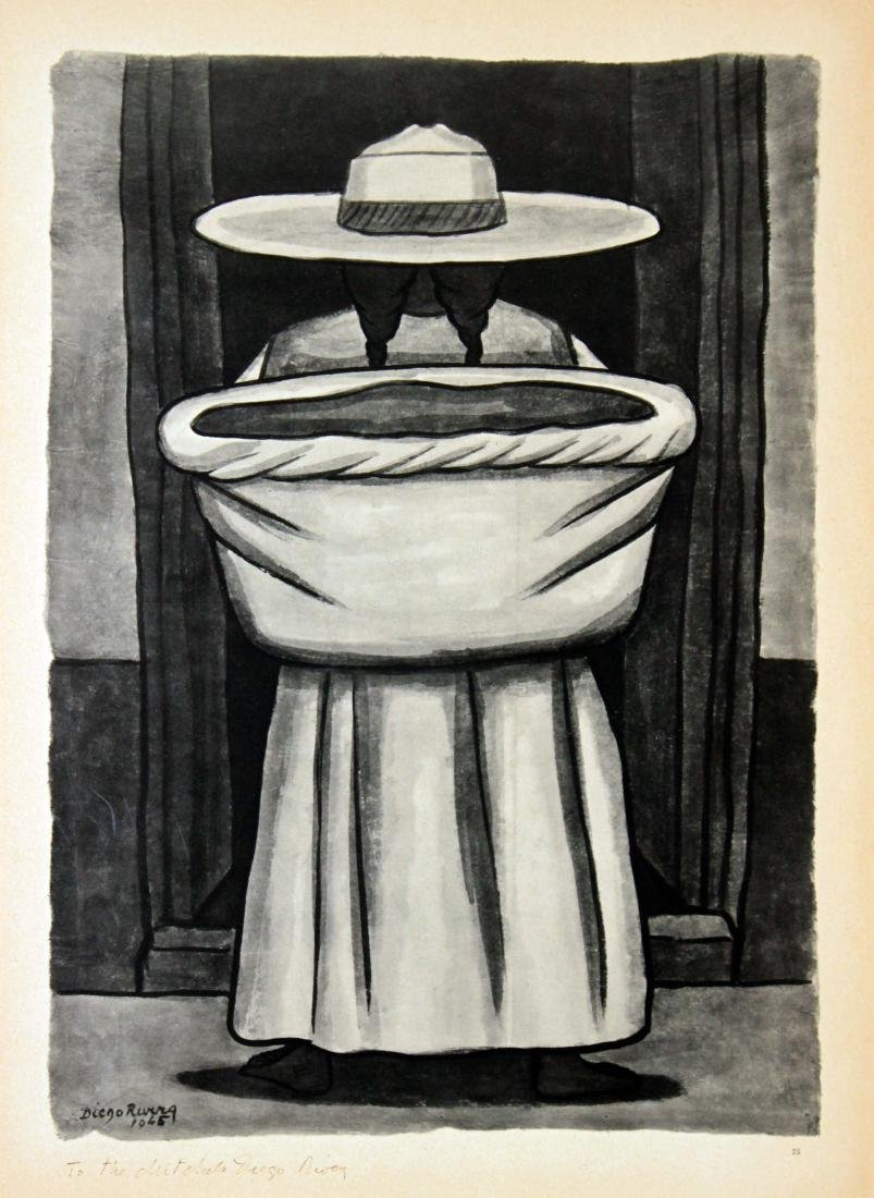 Diego Rivera - Untitled (Basket)