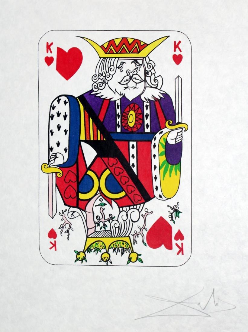 Salvador Dali - King of Hearts