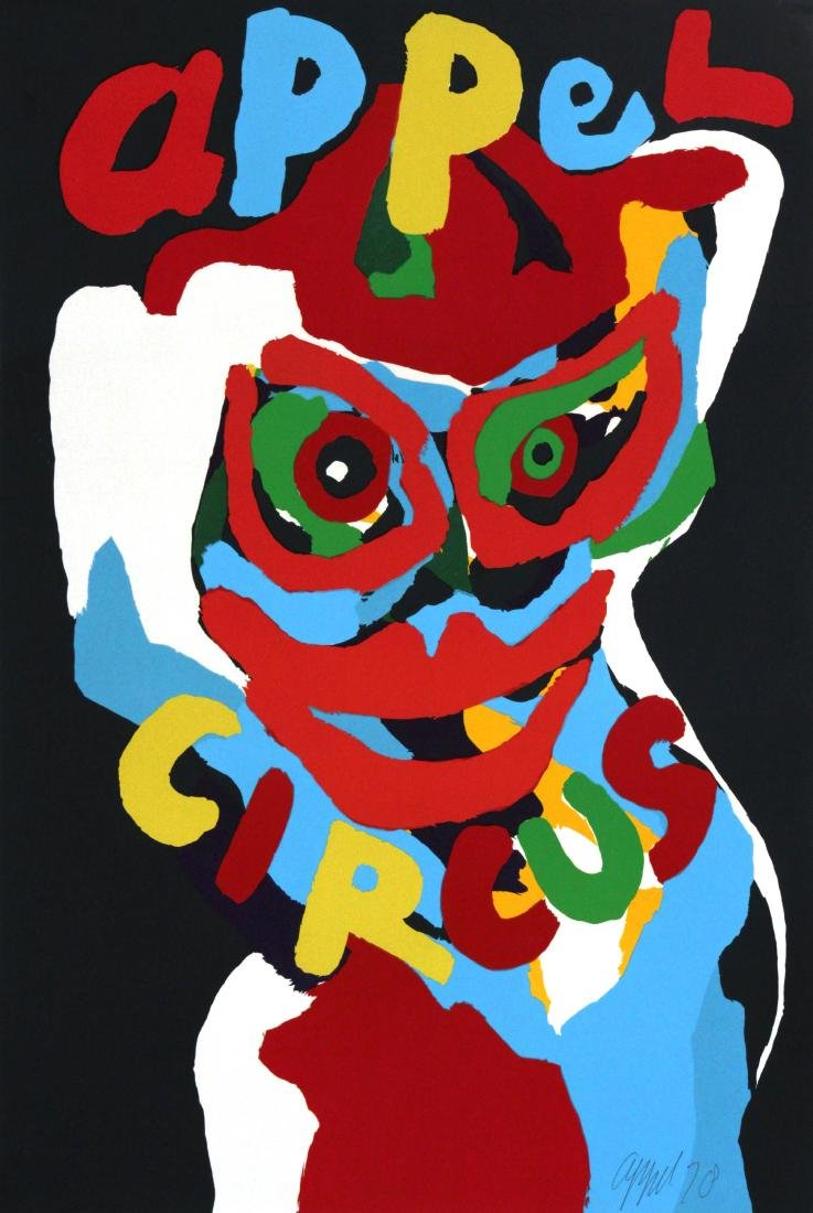 Karel Appel - Cirque