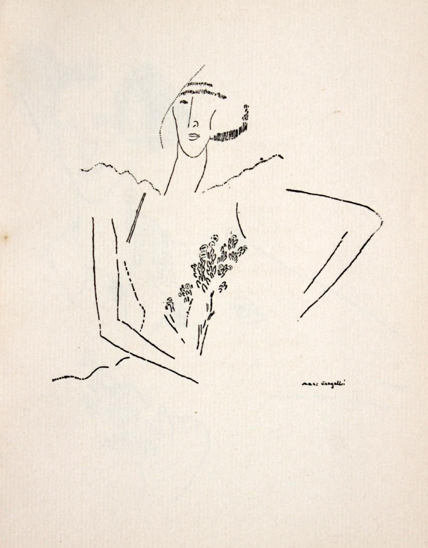 "Marc Chagall - Untitled from ""Love Poems"""