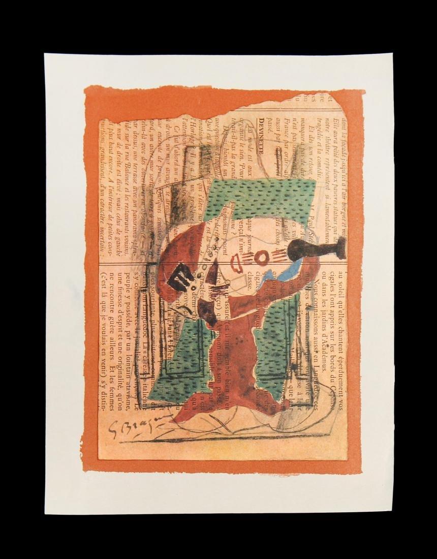"Georges Braque - Untitled from ""40 Disegni di Maestri"