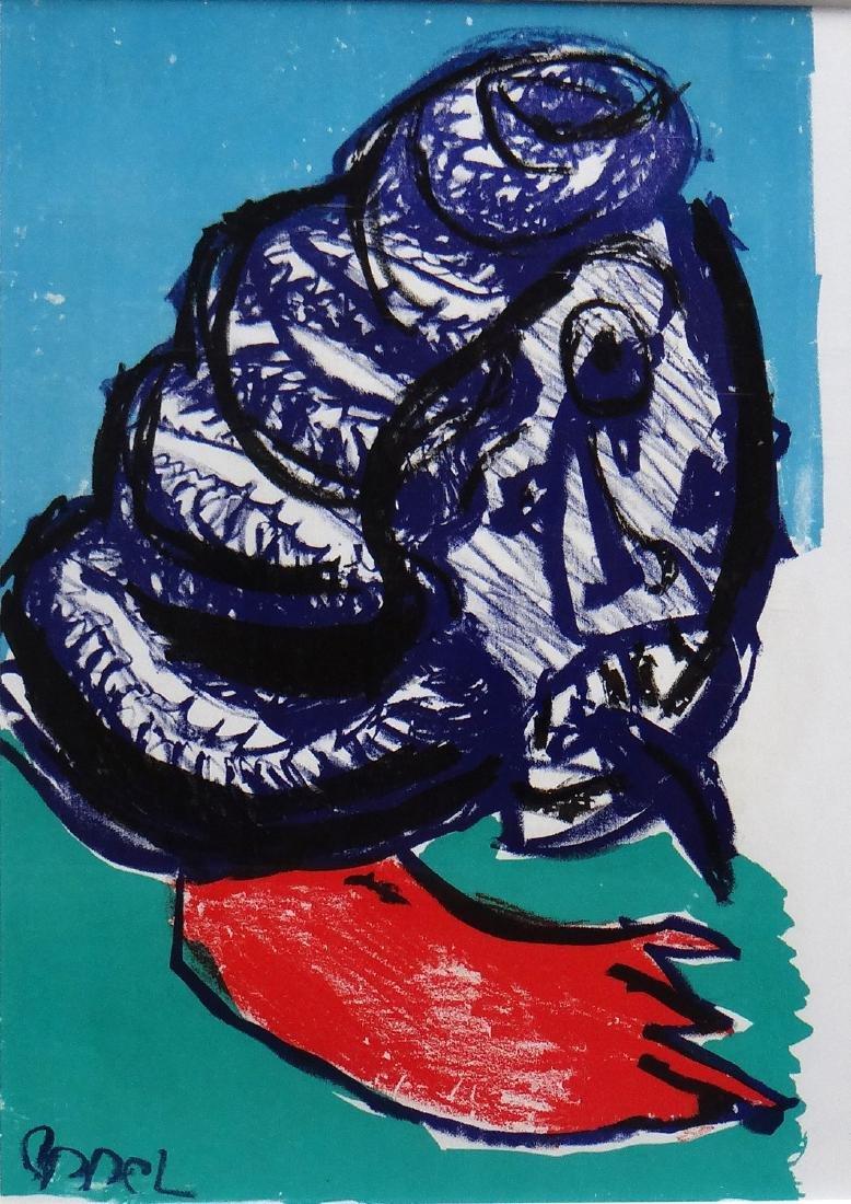 """Karel Appel """"Untitled"""""""