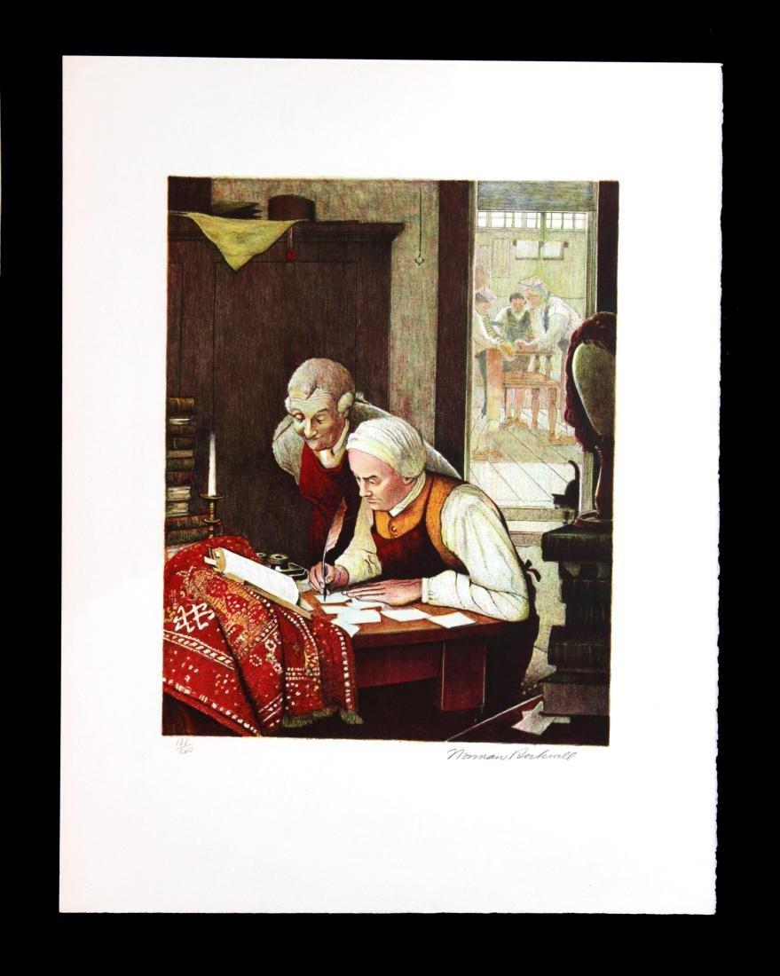 Norman Rockwell - Ye Olde Print Shoppe
