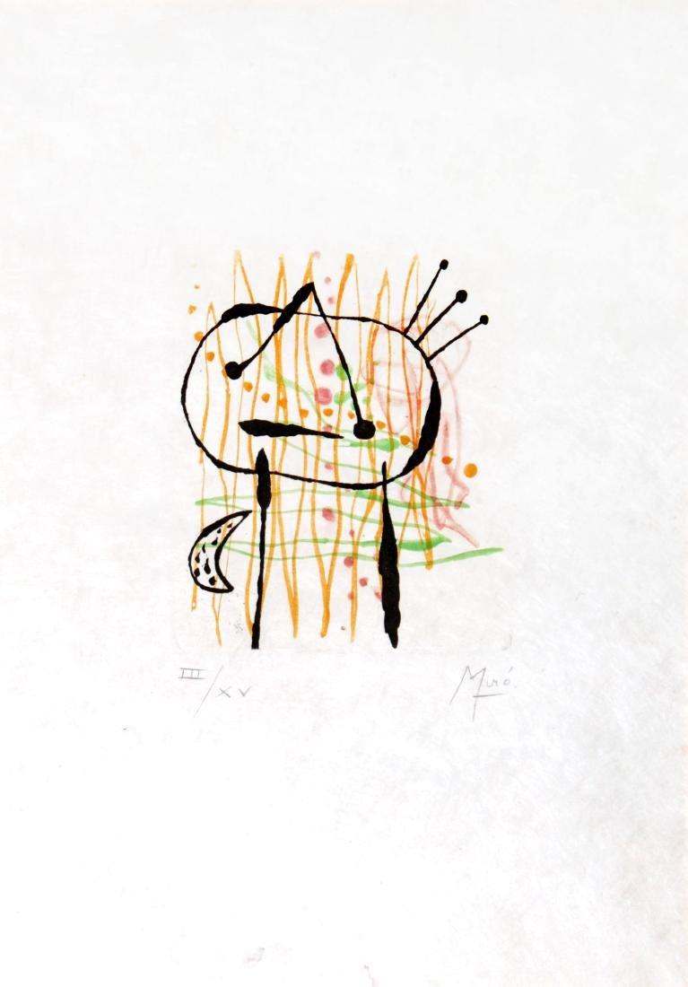 Joan Miro - La Bague d'Aurore