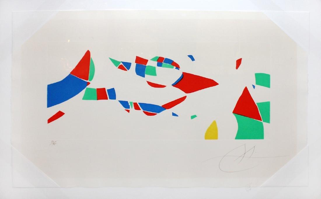 "Joan Miro ""Gravures pour une Exposition"" Aquatint"