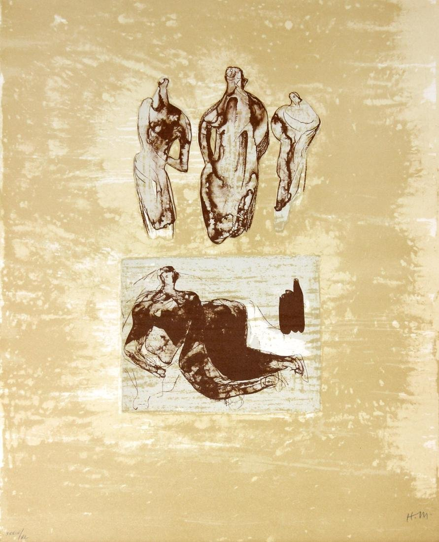 Ideas from a Sketchbook by Henry Moore