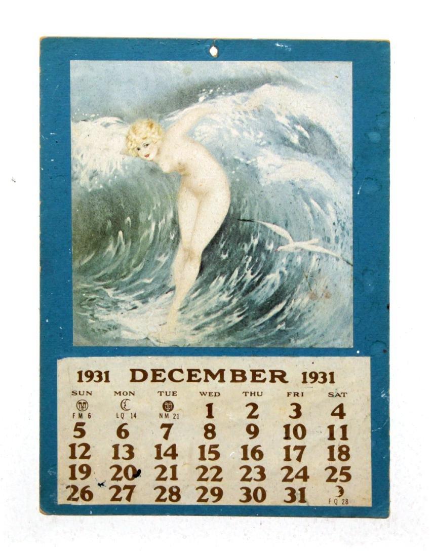 Louis Icart - Antique Full Calendar 1927