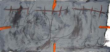 Antoni Tapies  Untitled Lithograph