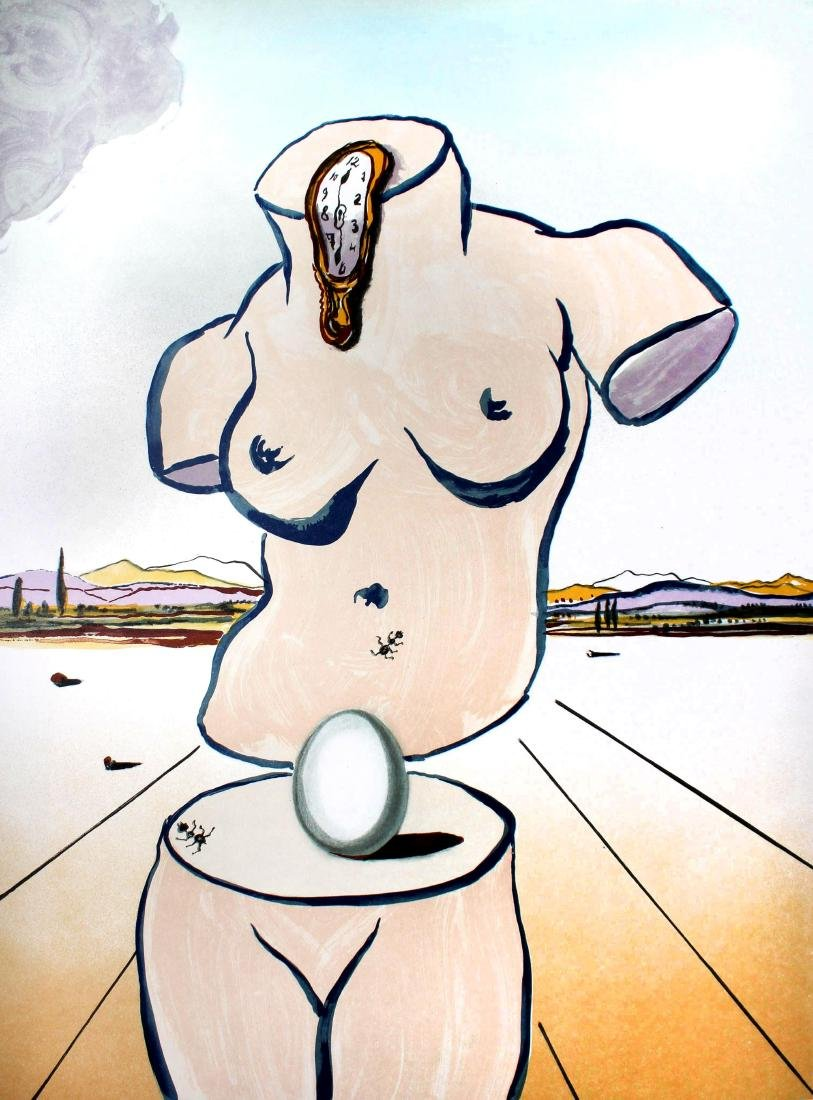 Salvador Dali - Birth of Venus