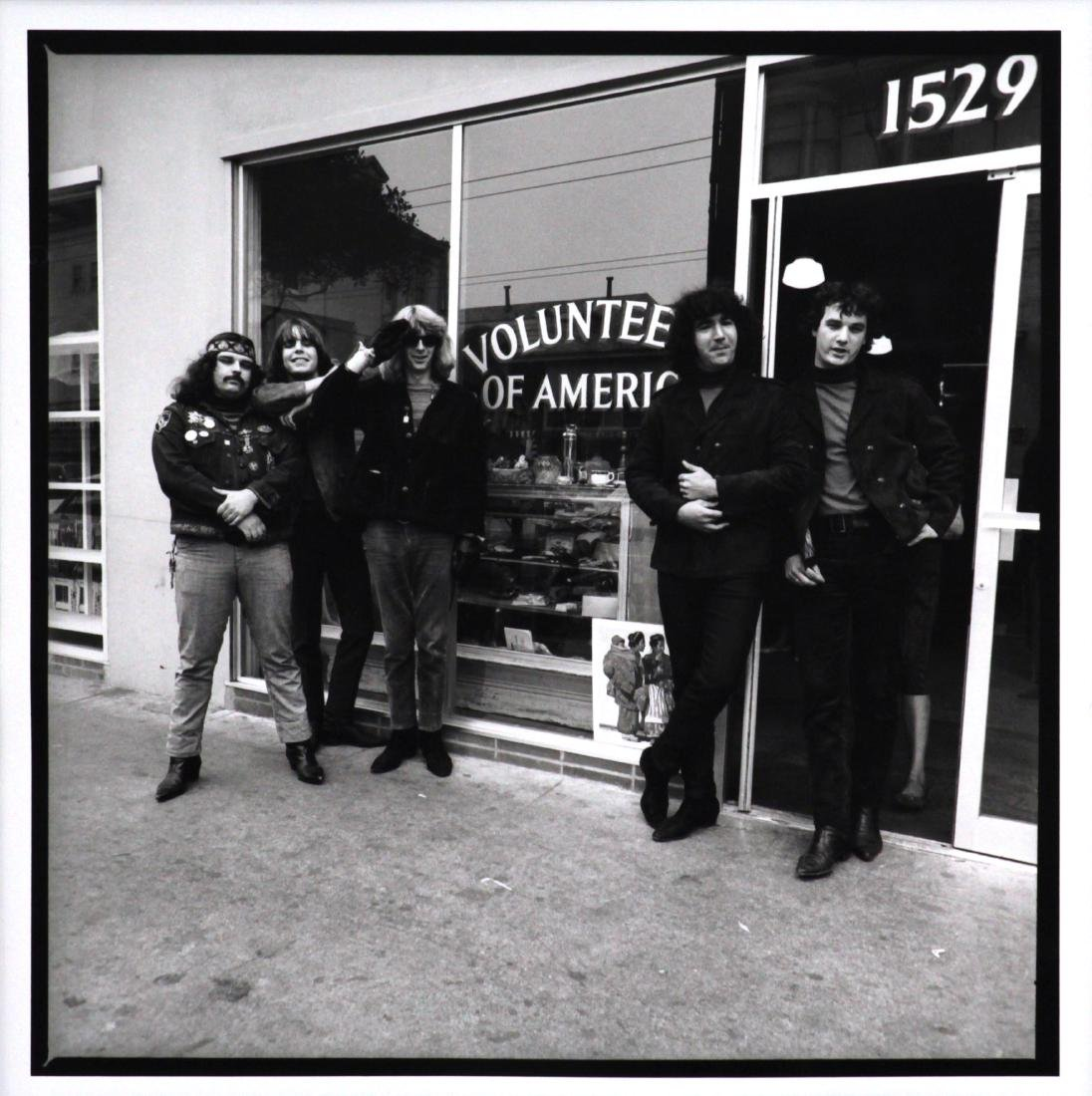 Herbie Greene - Grateful Dead in front of Volunteers of