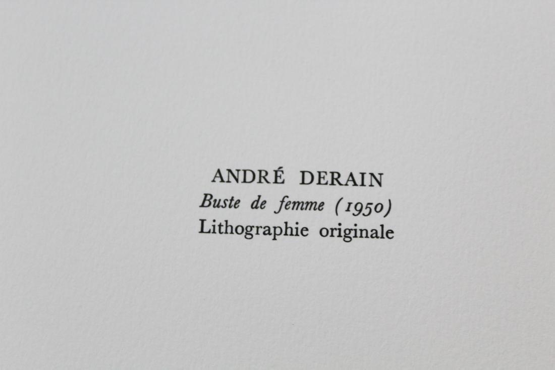 """Andre Derain - """"Buste de Femme (1950)"""" from Souvenirs - 2"""