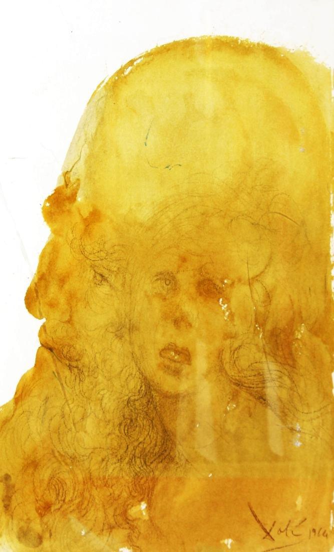 Salvador Dali - Assueres adamavit Esther (Plate 38)