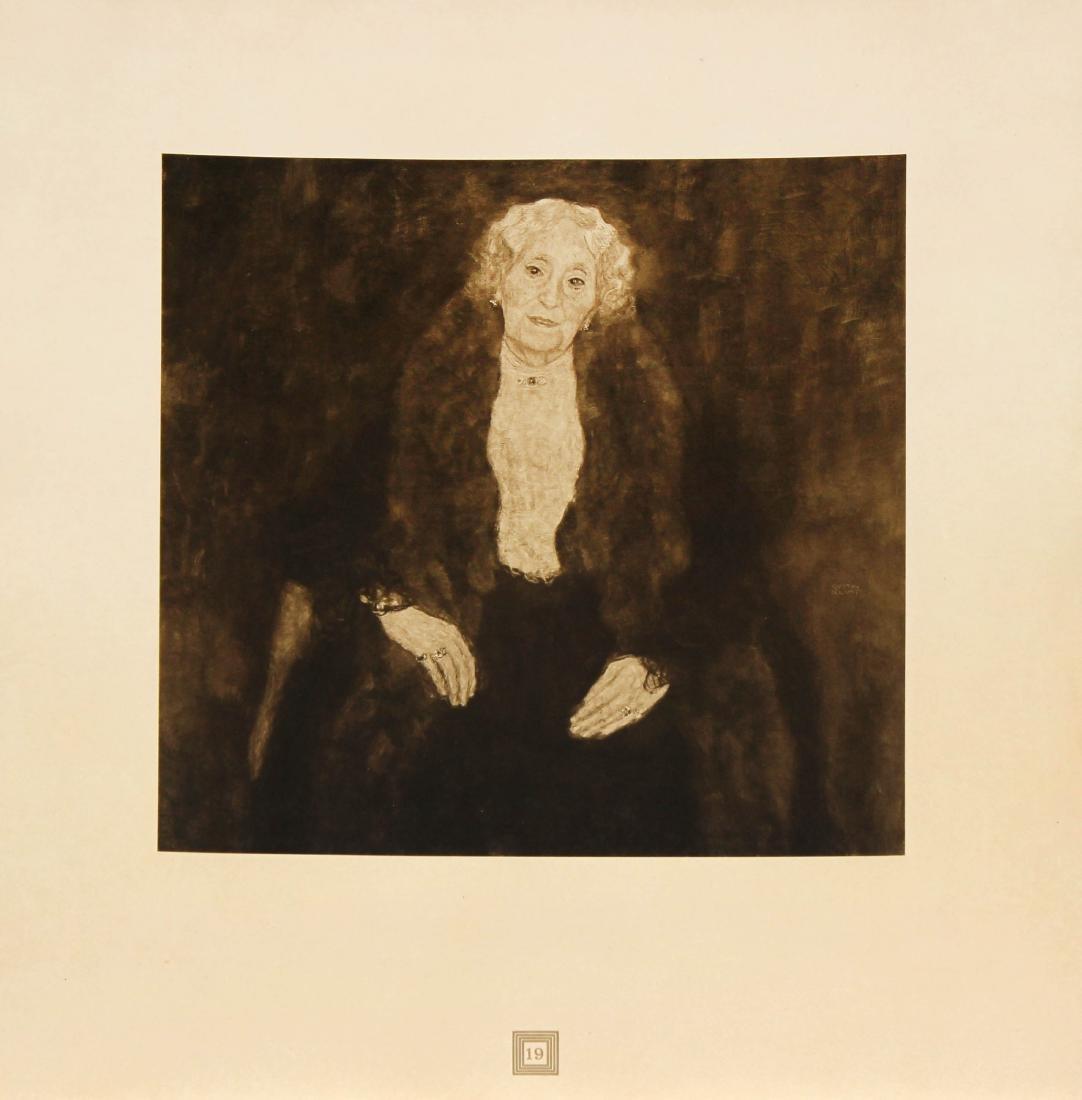 Gustav Klimt (After) - Bildnis Einer Alten Dame