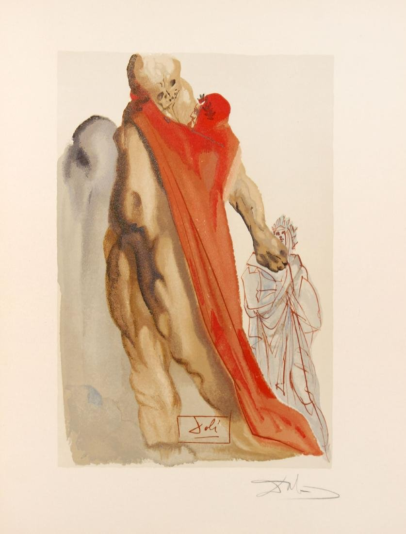 Salvador Dali - Virgil's Admonishment