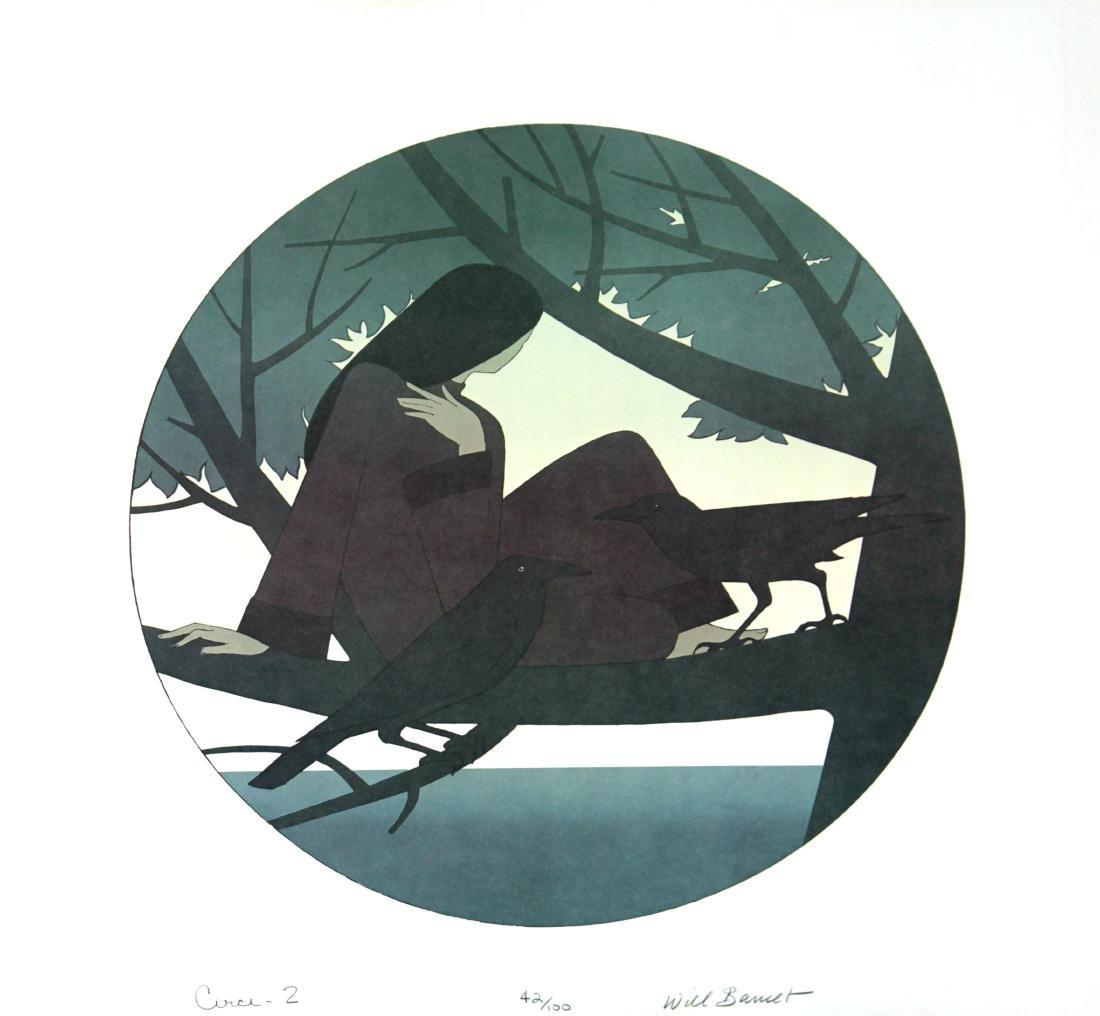 Will Barnet - Circe II (Black)