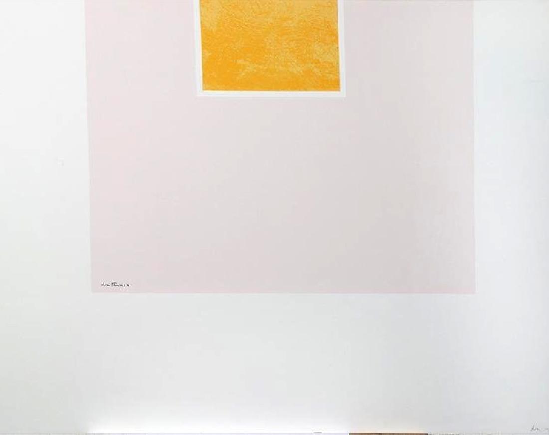 Robert Motherwell - Untitled (Orange/Pink) from London