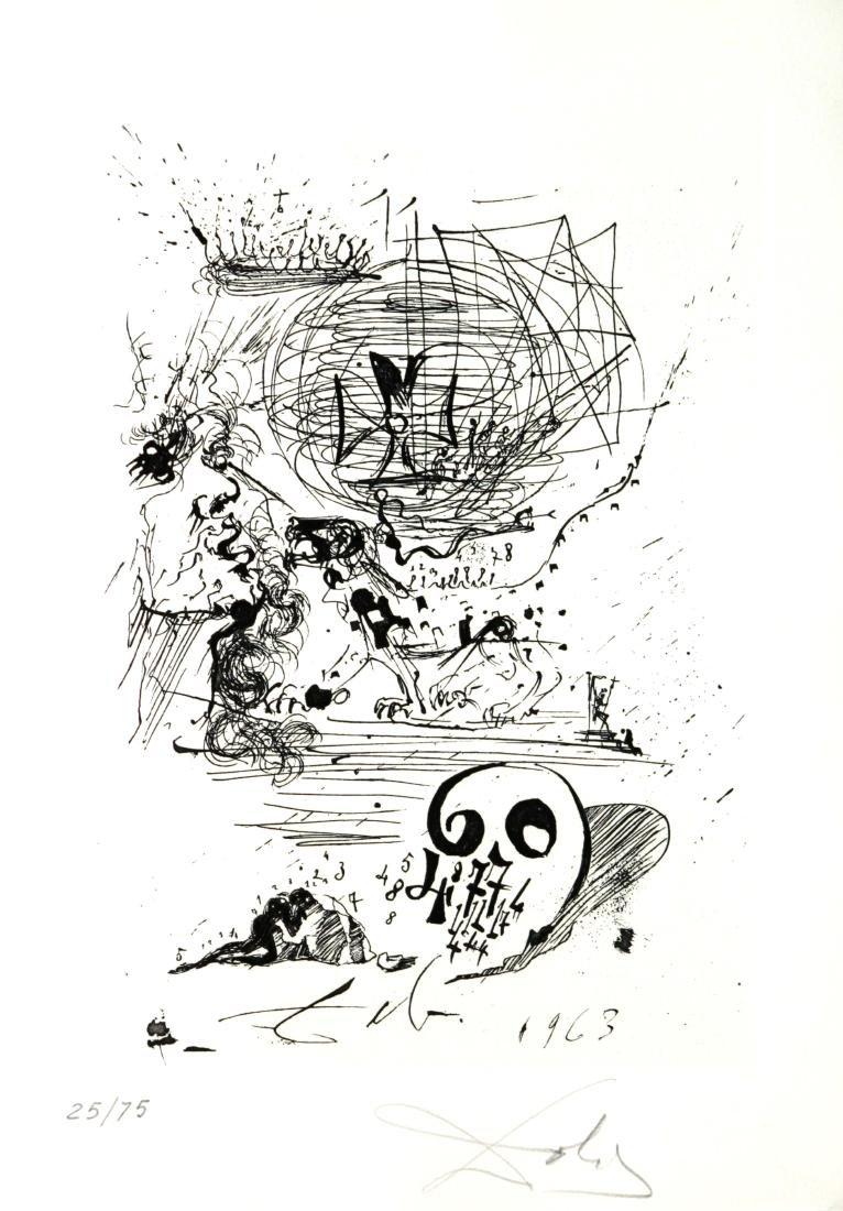 Salvador Dali - Study for a Second Dream