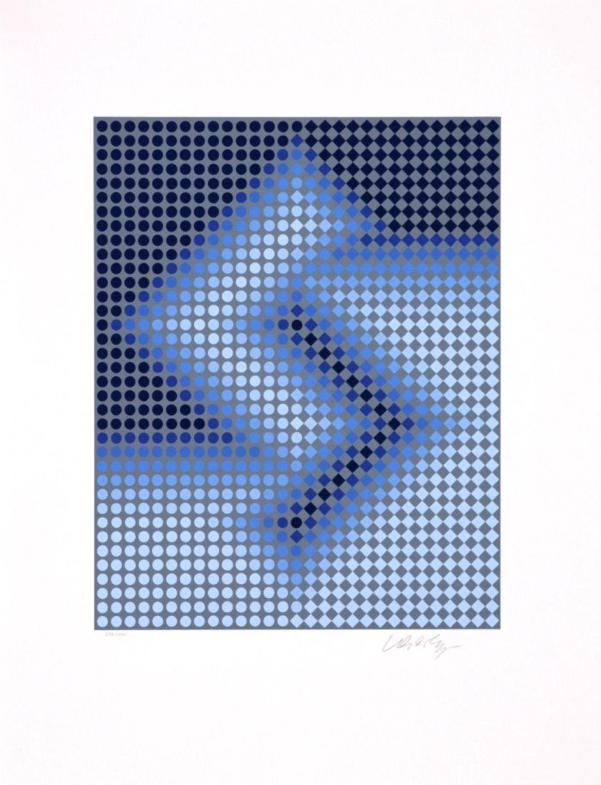 Victor Vasarely - Untitled Lithograph