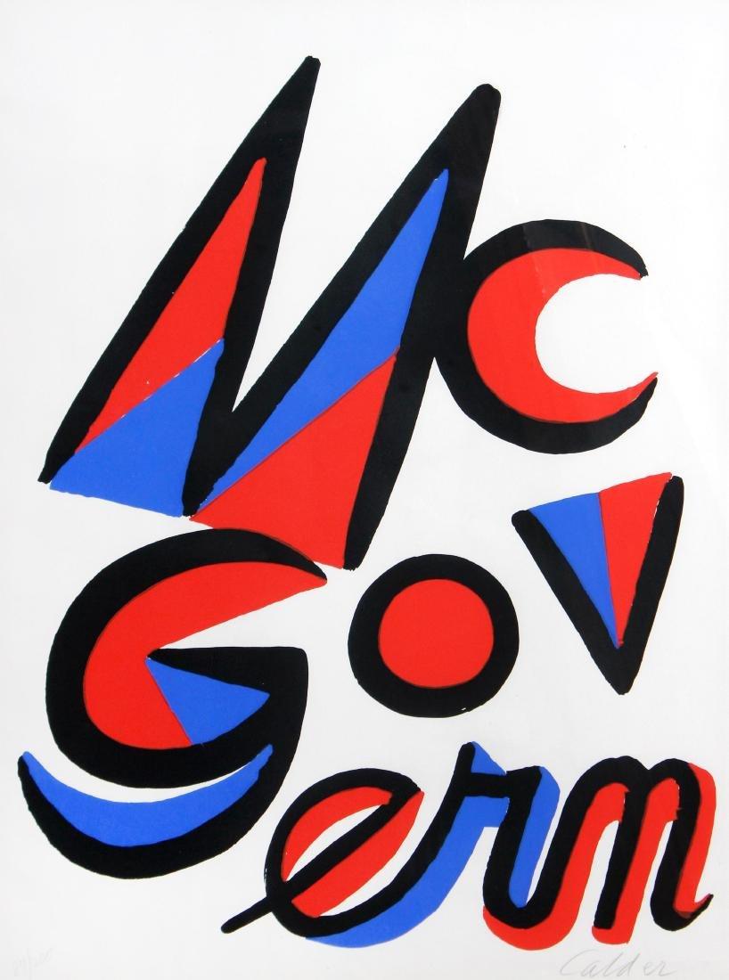 Alexander Calder - McGovern for Government