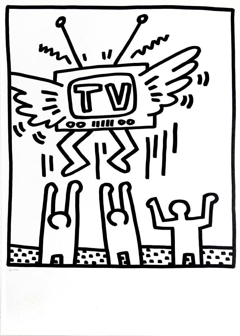 "Keith Haring - From ""Lucio Amelio Gallery Portfolio"""