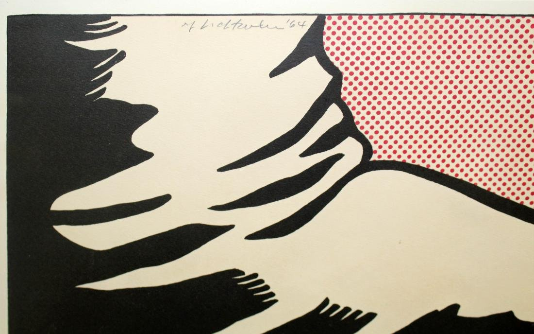 Roy Lichtenstein - Foot and Hand - 2