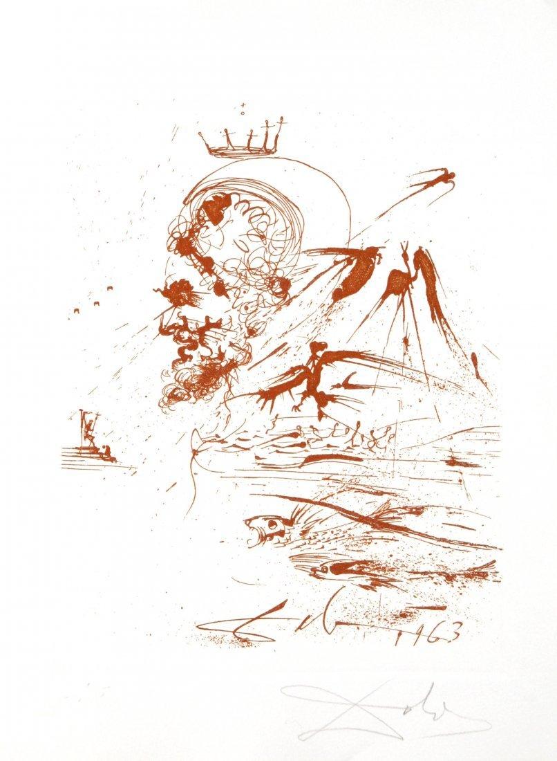 Salvador Dali - Study for a Dream
