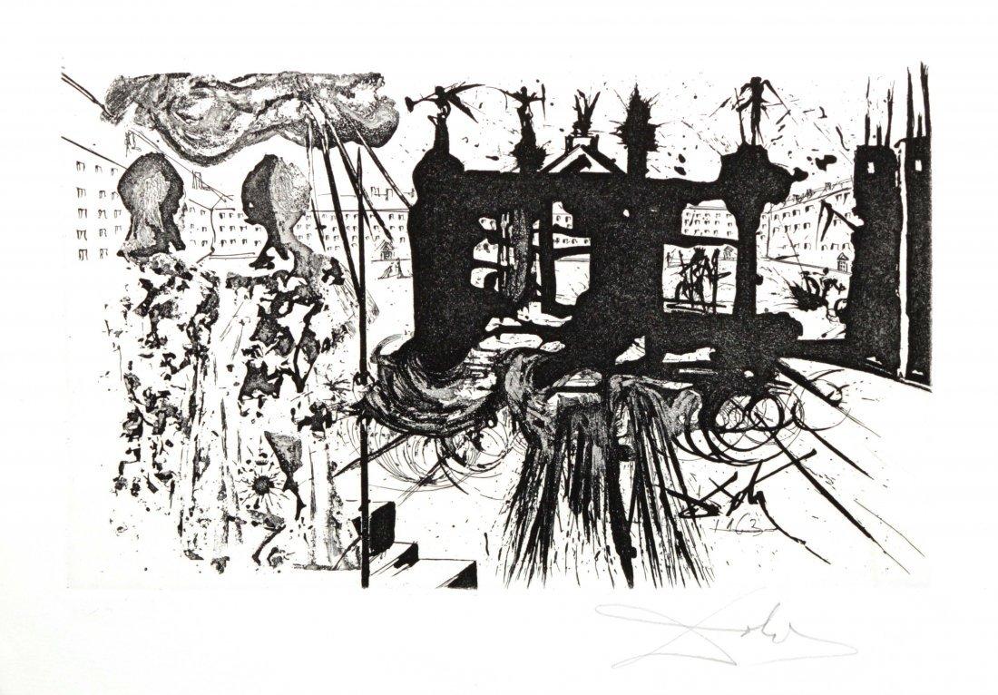 Salvador Dali - The Portico