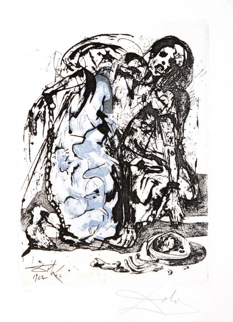 Salvador Dali - Figure in Chains