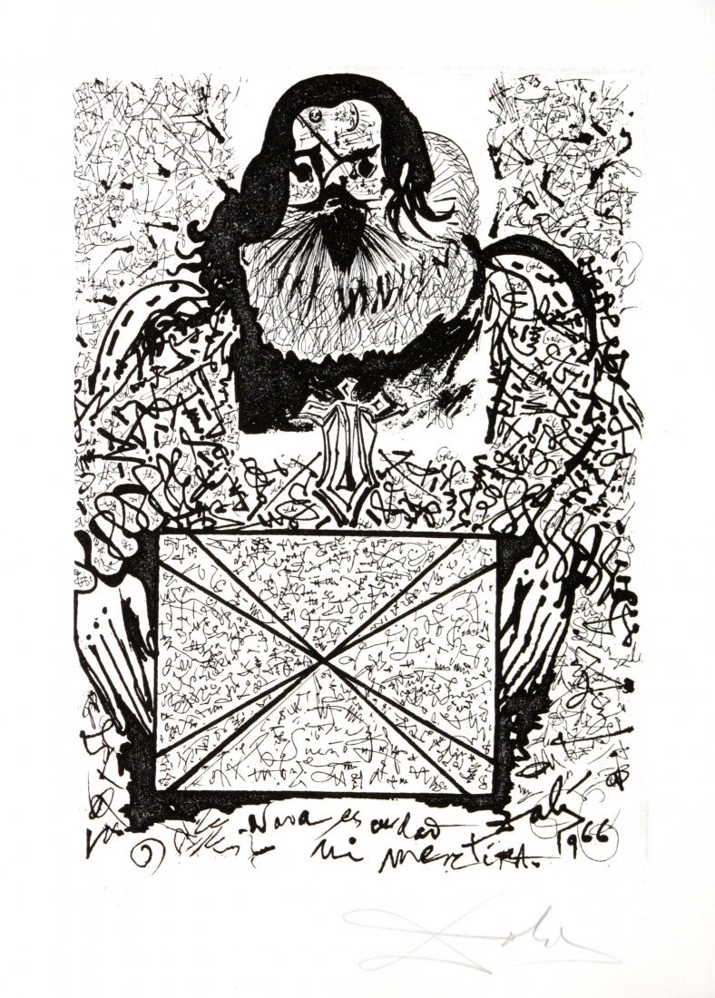 Salvador Dali - Portrait of the Signatures