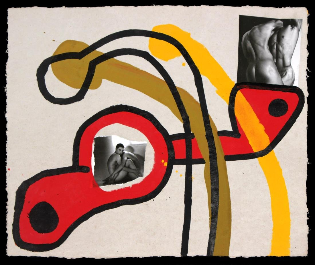 Keith Haring - Original Untitled Artwork