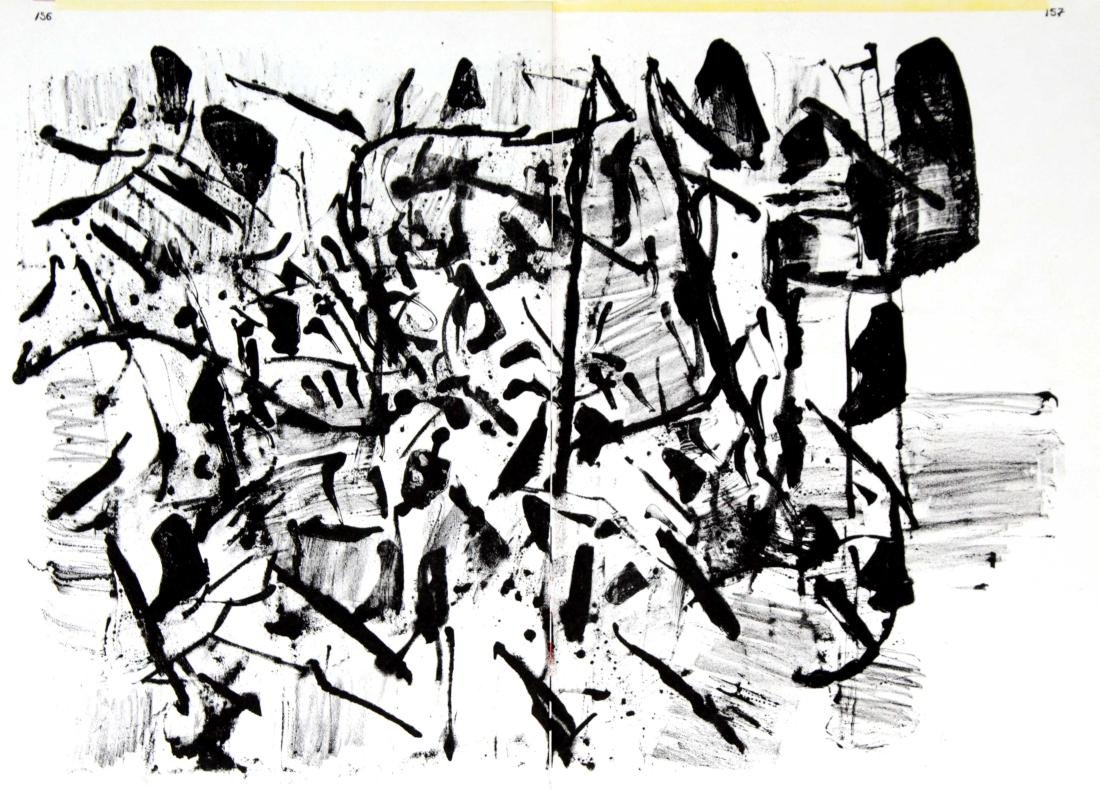"Jean-Paul Riopelle - Untitled from ""One Cent Life"""