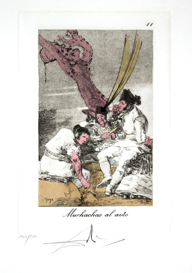 Salvador Dali - Muchachas al avio