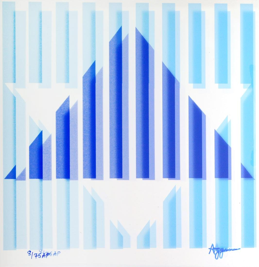 Yaacov Agam - Star of Hope