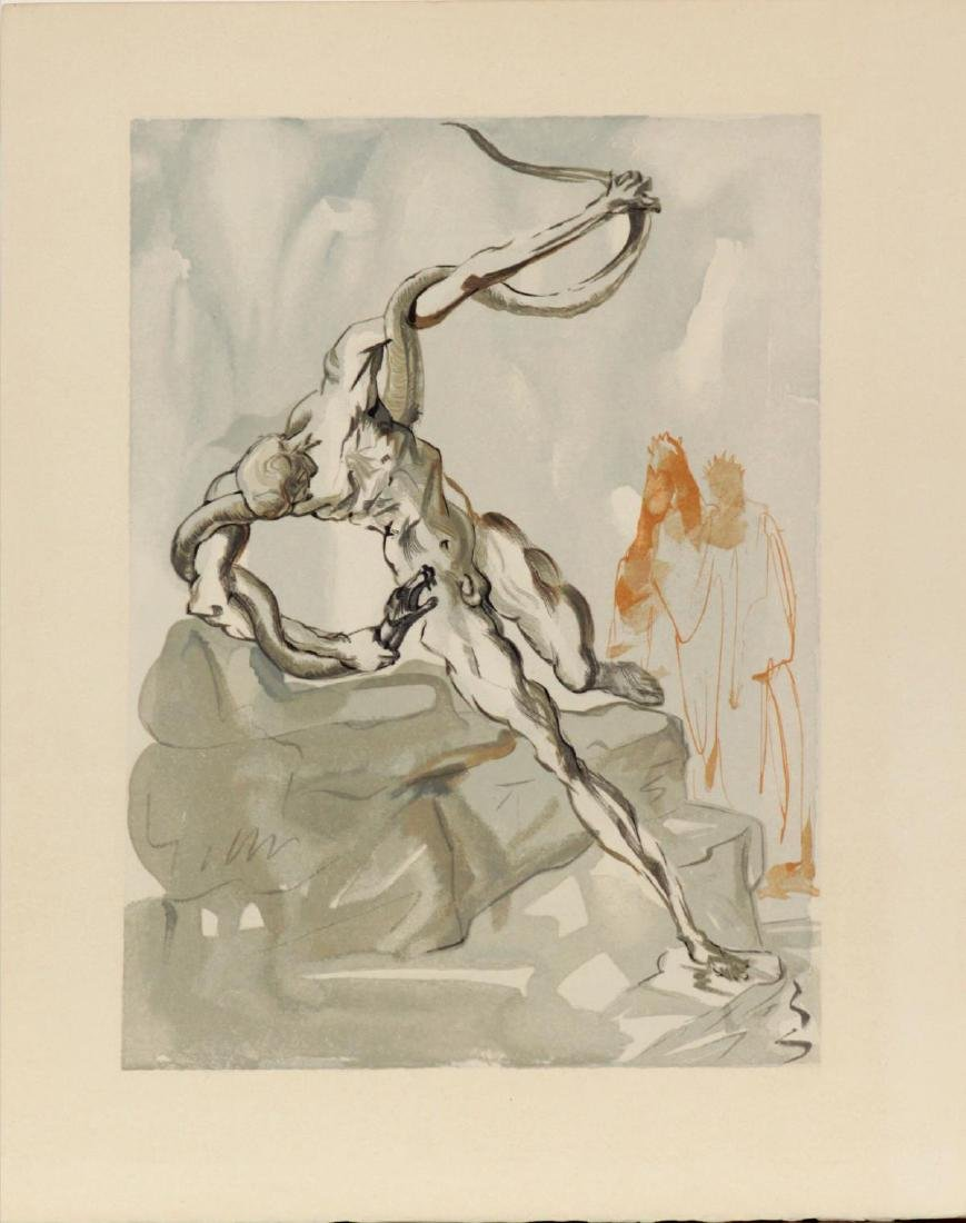 Salvador Dali - The Theives