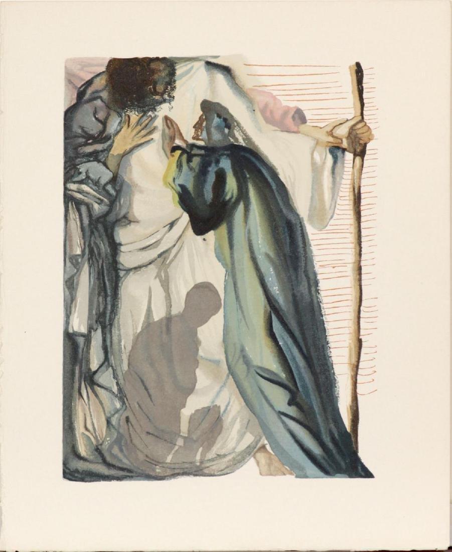 Salvador Dali - A Spirit Questions Dante