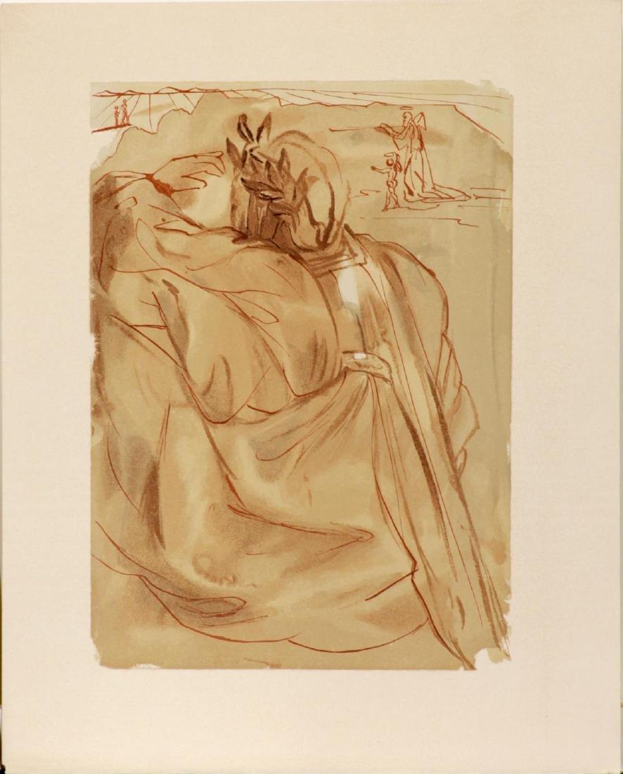 Salvador Dali - Dante's Repentance