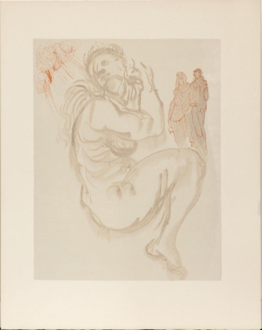 Salvador Dali - Dante's Dream