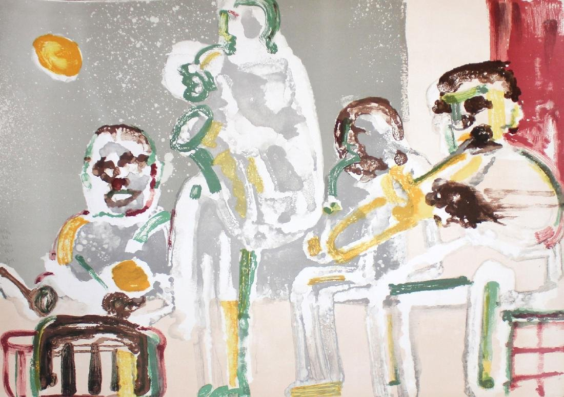 "Romare Bearden ""Tenor Sermon"""