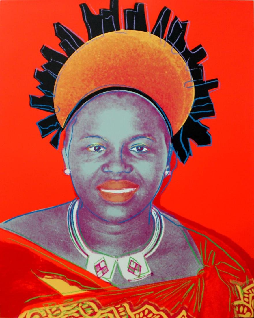 Andy Warhol - Ntombi Twala of Swazilland