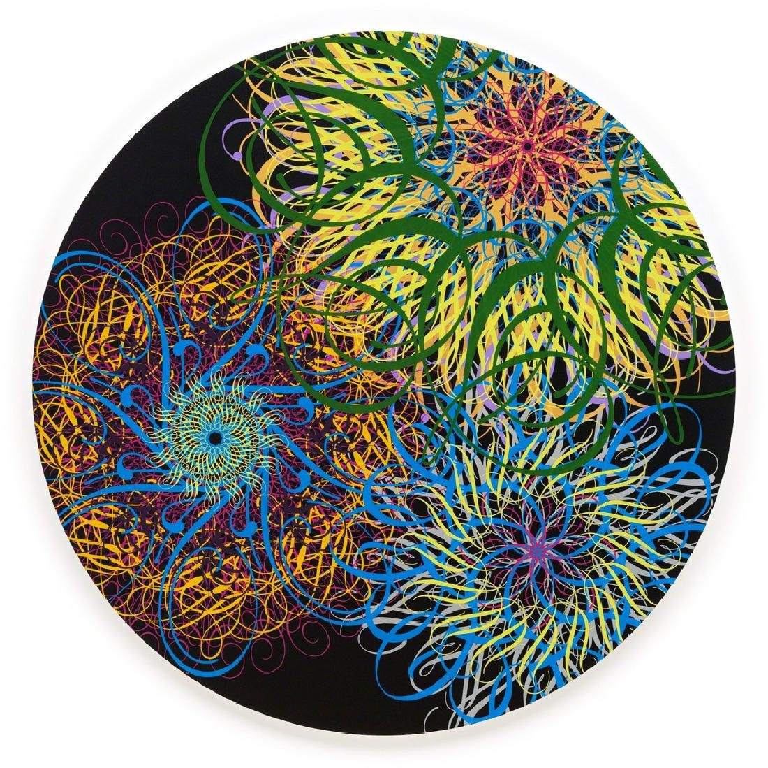 Ryan McGinness - Black Hole (Dark Energy Black)