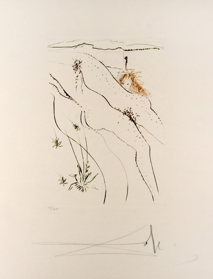 Salvador Dali - Le tonneau