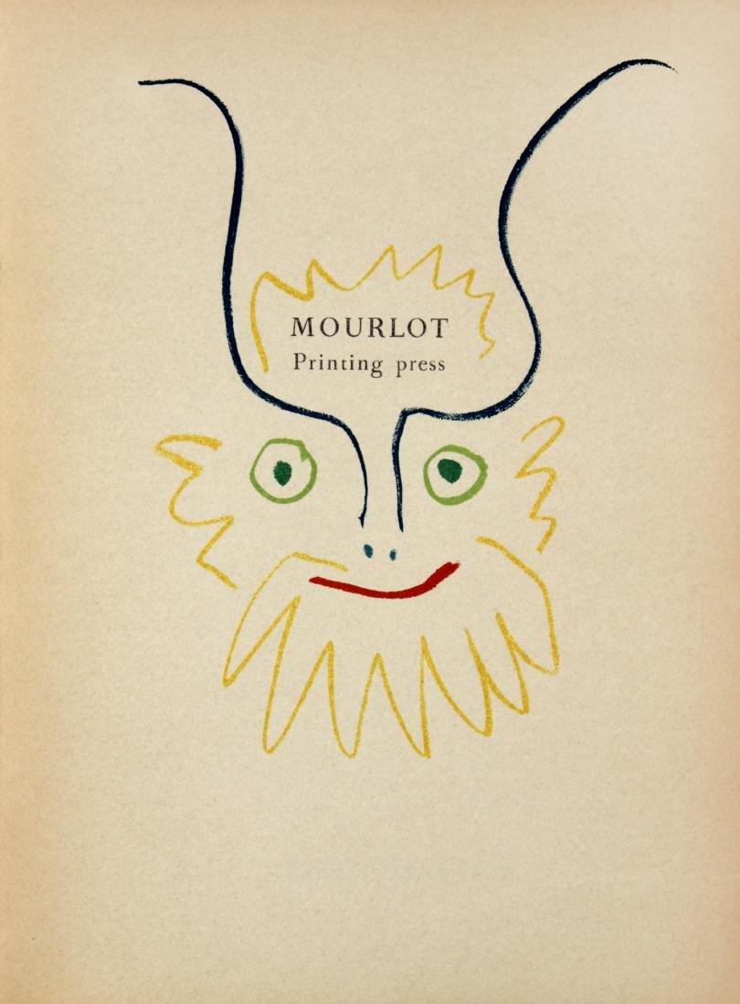 Pablo Picasso - Mourlot Cover