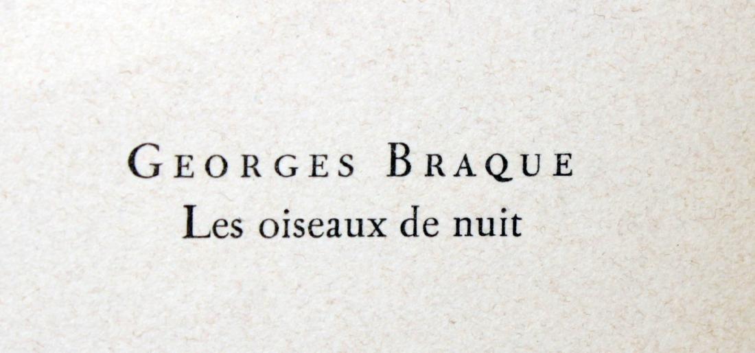 Georges Braque - Les ouiseaux de nuit - 2