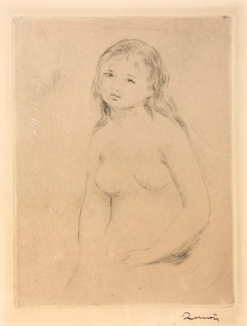 Pierre-Auguste Renoir - Etude pour une baigneuse