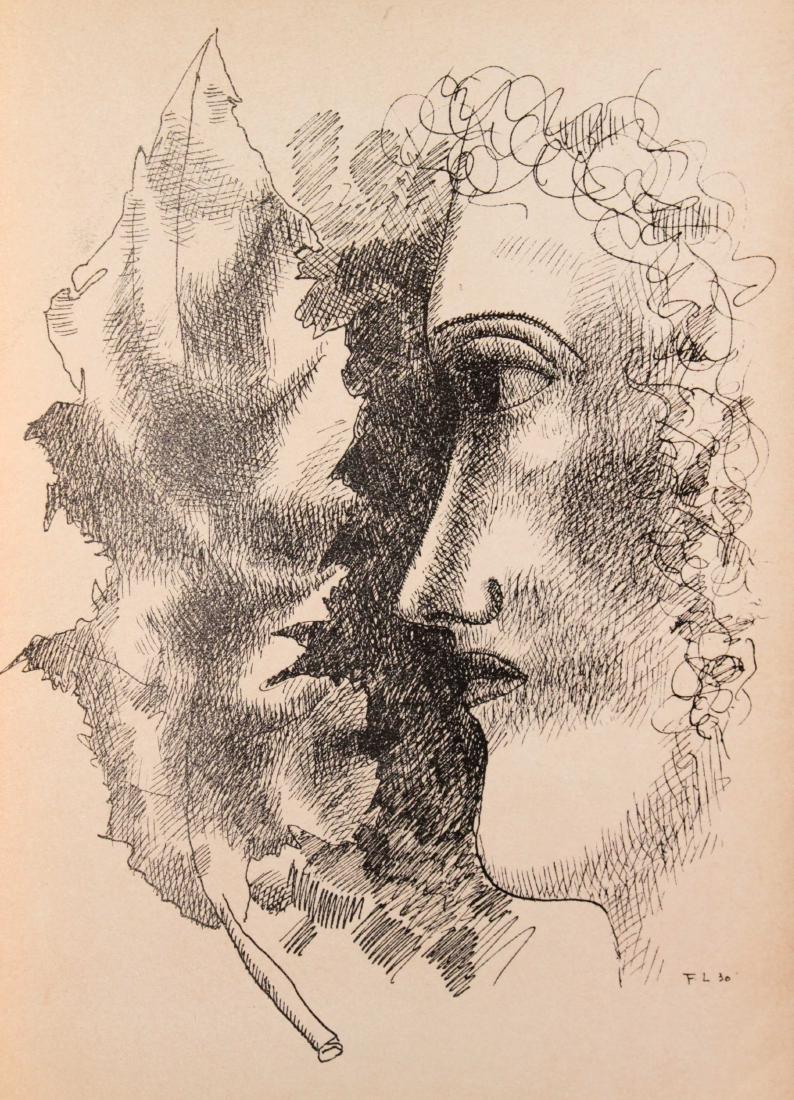 Fernand Leger - Tete et Feuille