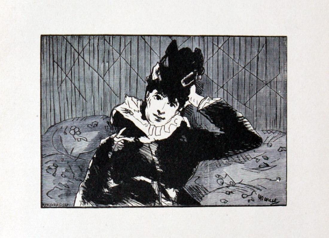Edouard Manet - Pariserin (Parisian Lady)